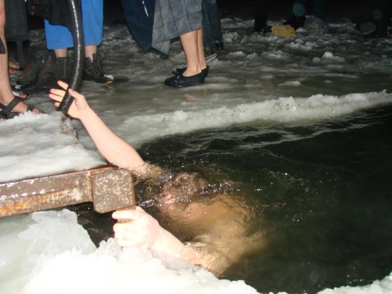 Крещение 2012. десятилетие ныряния